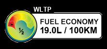19 litres/100km