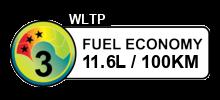 11.6 litres/100km