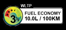 10 litres/100km