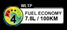 7.8 litres/100km