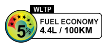 5.5 fuel rating stars out of 6