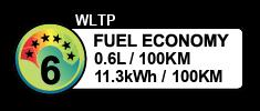 0.6 litres/100km