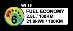 2.8 litres/100km