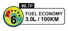 3 litres/100km