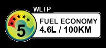 4.6 litres/100km